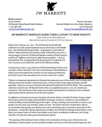Jw Marriott Marquis