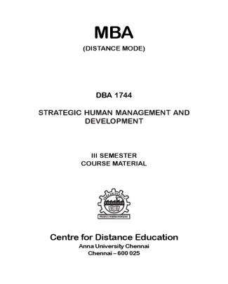 Statergic Human Resource Management